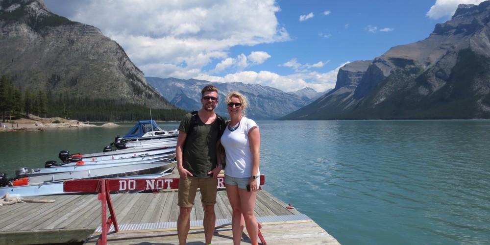 Lake Minnewanka - Banff National Park - Alberta - Canada - Doets Reizen