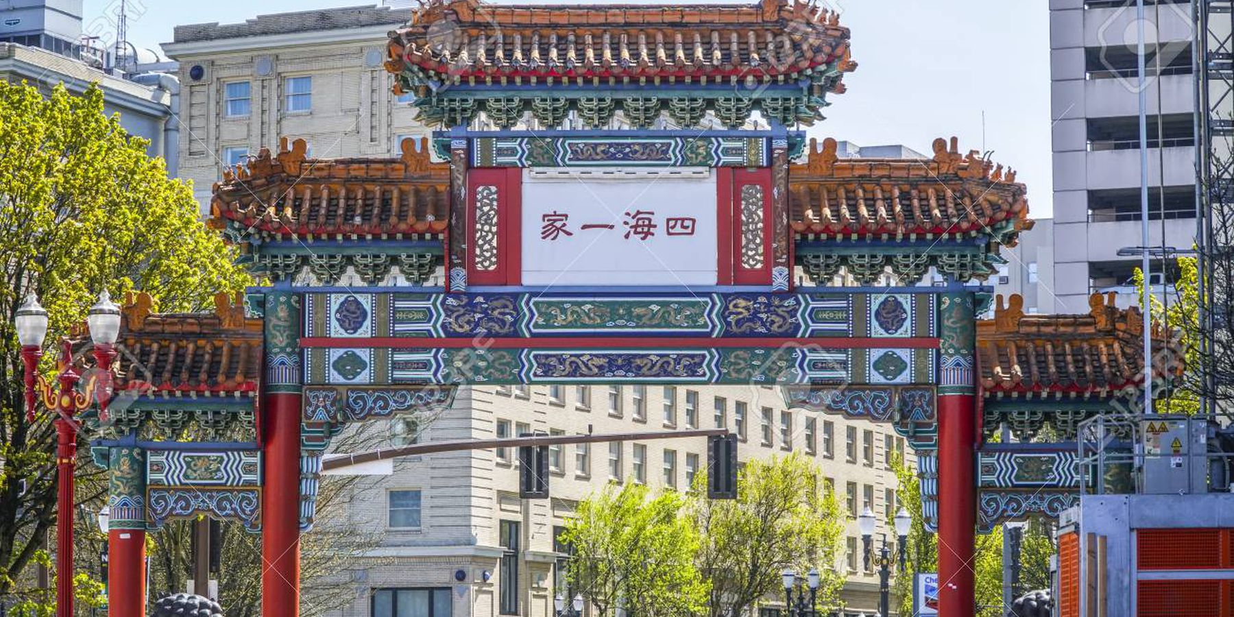 China Town - Portland - Oregon - Doets Reizen