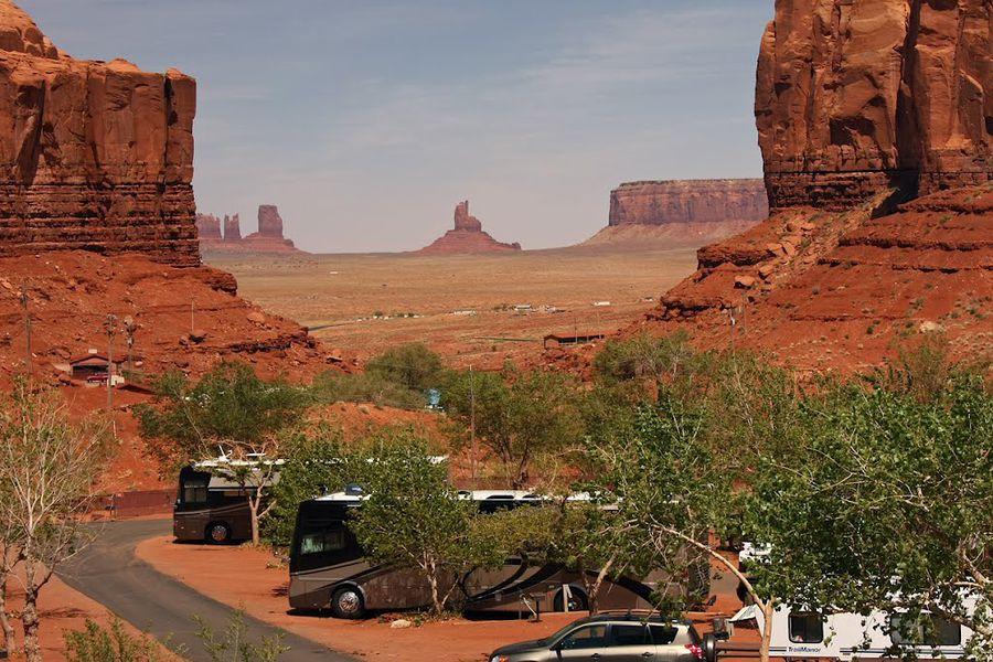 Gouldings Campground - Monument Valley - Utah - Camping Amerika - Doets Reizen