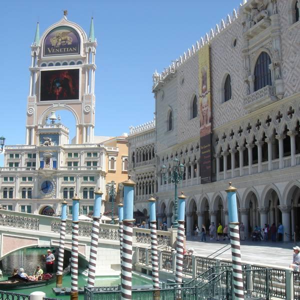 Venetian Hotel - aanzicht