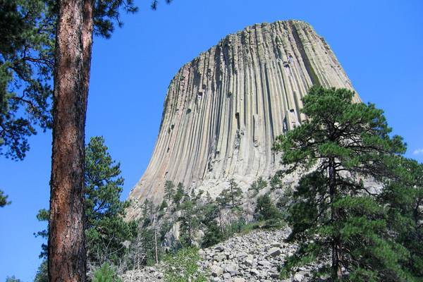 Devils Tower National Monument - Wyoming - Doets Reizen