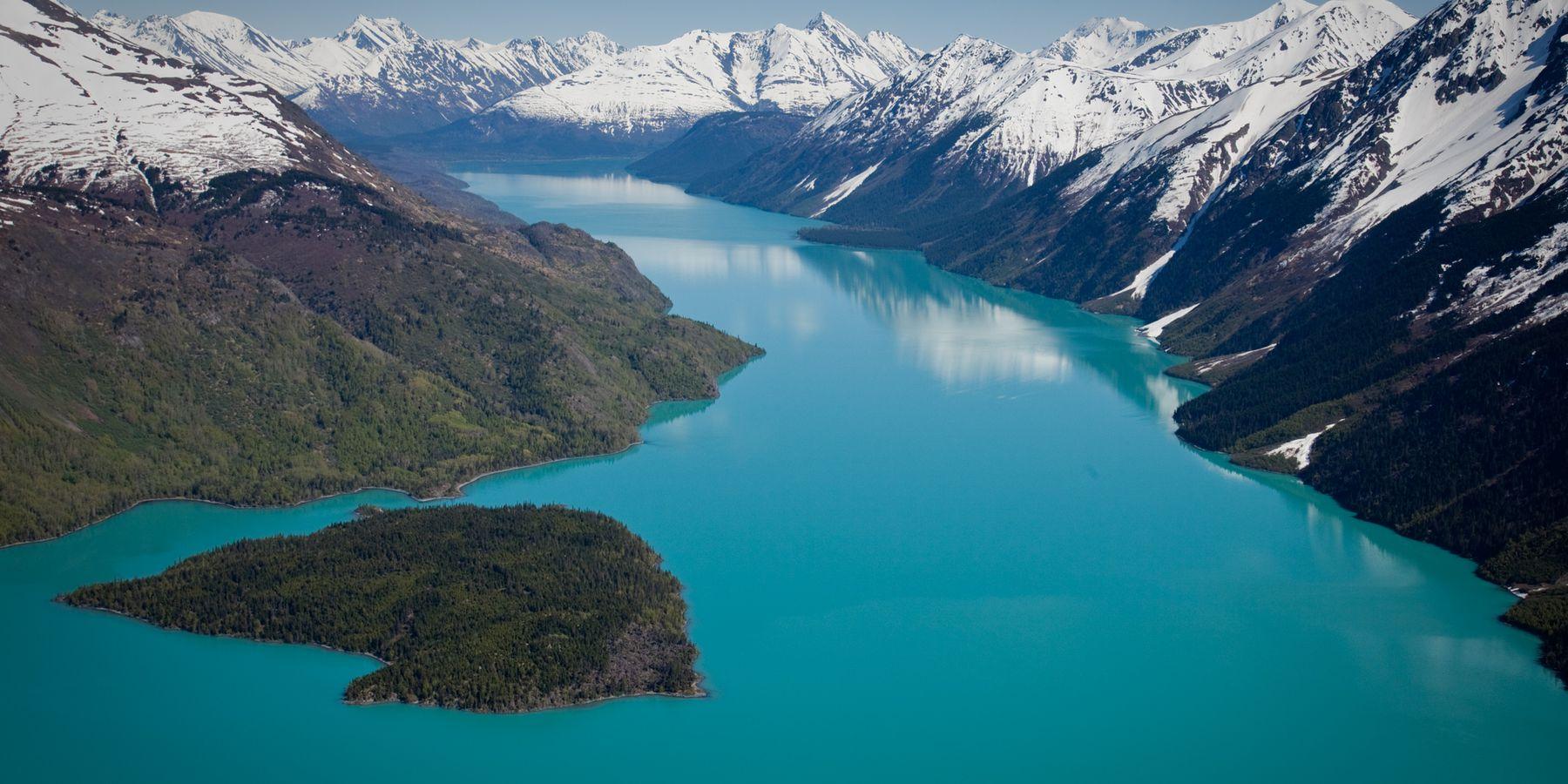 Kenai Lake - Cooper Landing - Kenai Peninsula - Alaska - Doets Reizen