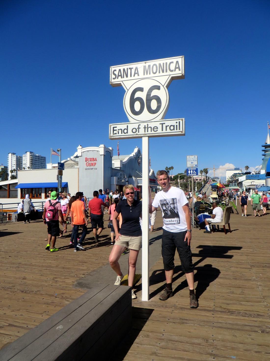 Santa Monica - Route 66 - California - Doets Reizen
