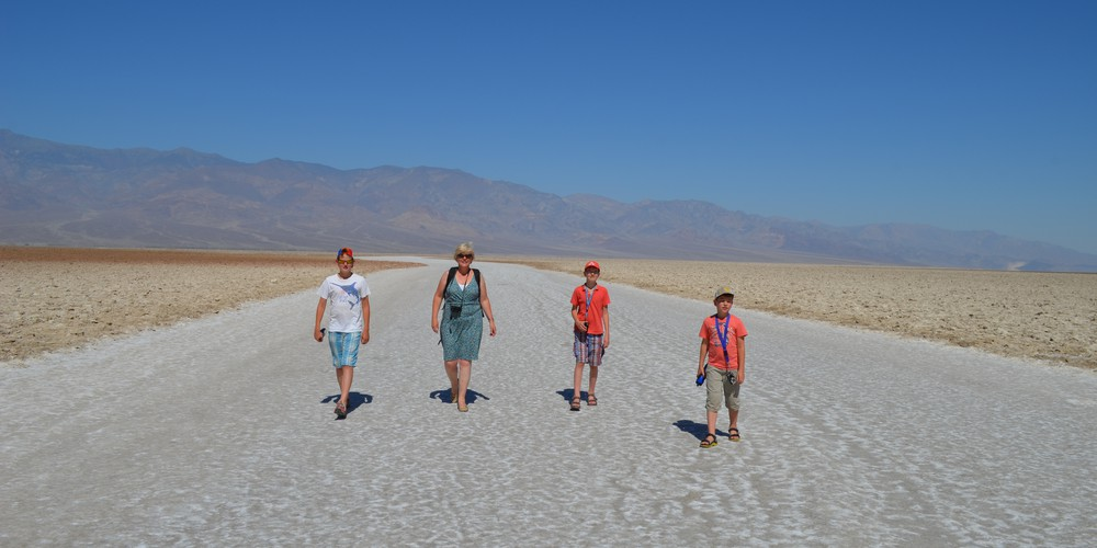 Family Time in Death Valley NP, California