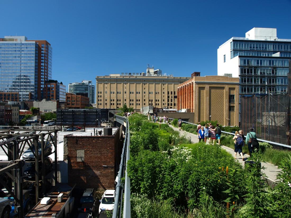 High Line Park in New York City
