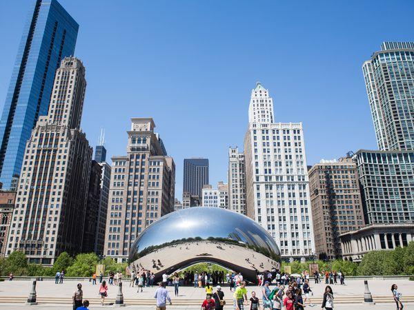 The Bean - Chicago - Illinois - Doets Reizen