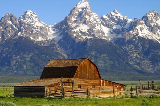 Grand Teton NP in Wyoming