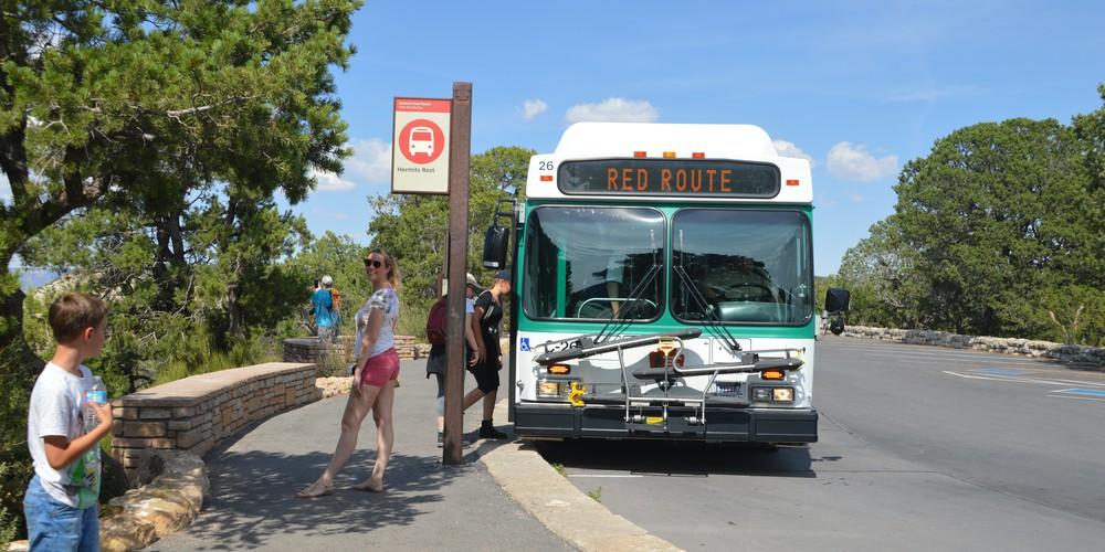 Shuttle Bus Grand Canyon NP