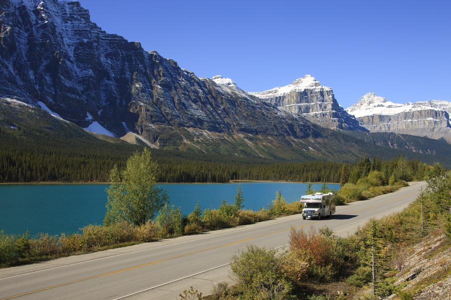 Cruise Canada onderweg over de Icefields Parkway
