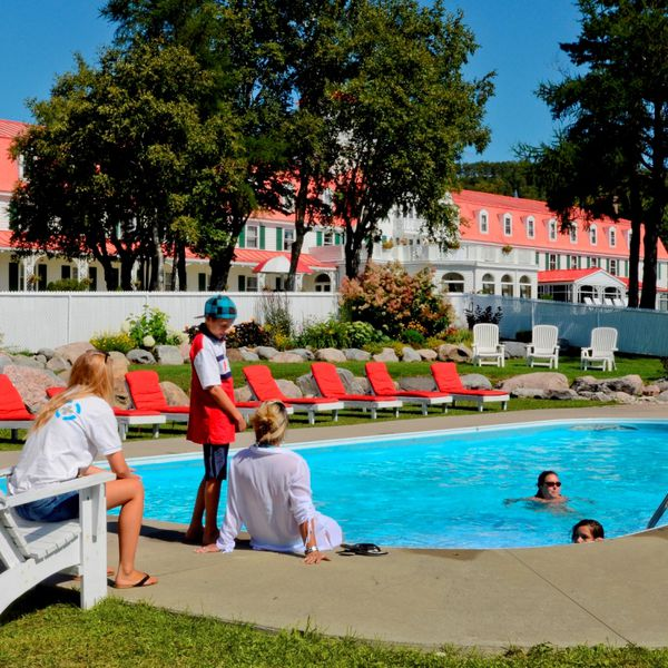 Hotel Tadoussac - Pool