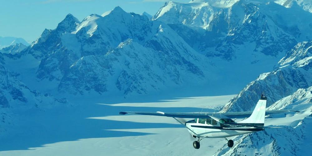 Flight Tour - Kluane National Park - Yukona - Canada - Doets Reizen