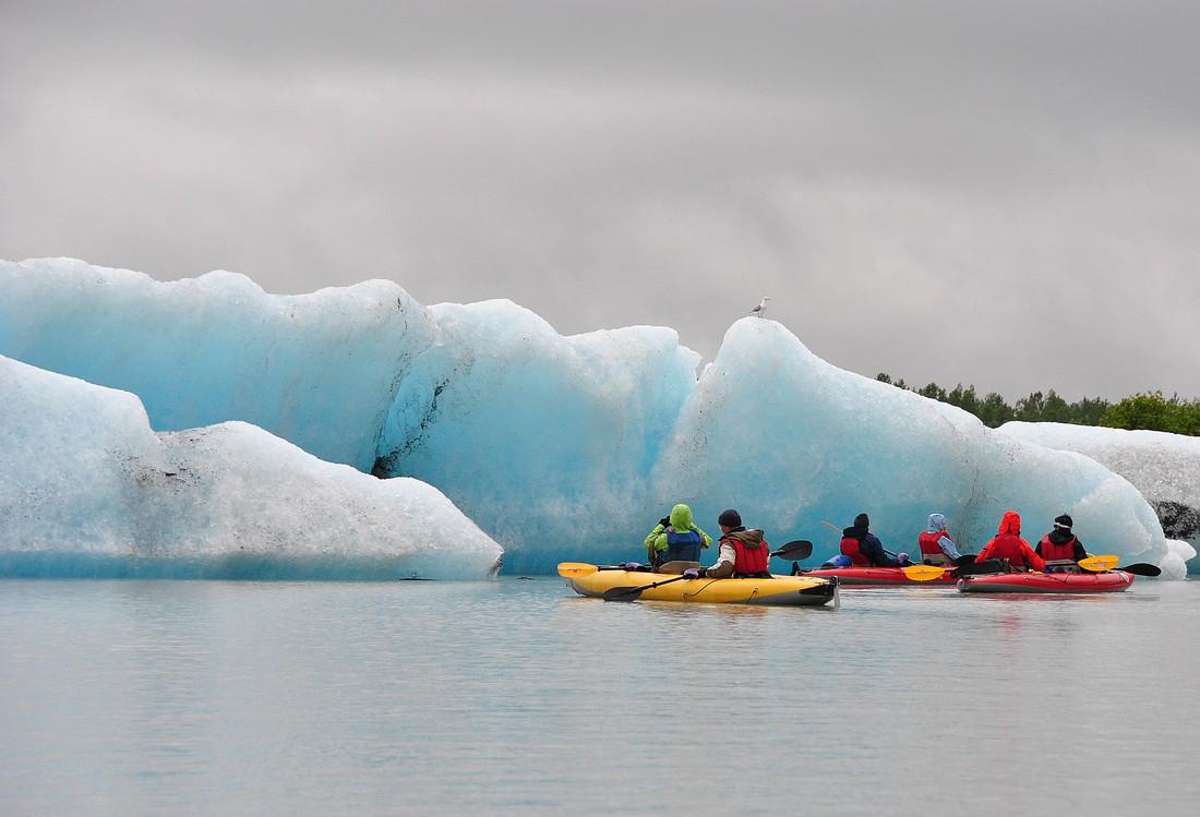 Kayaking - Lake Valdez - Doets Reizen