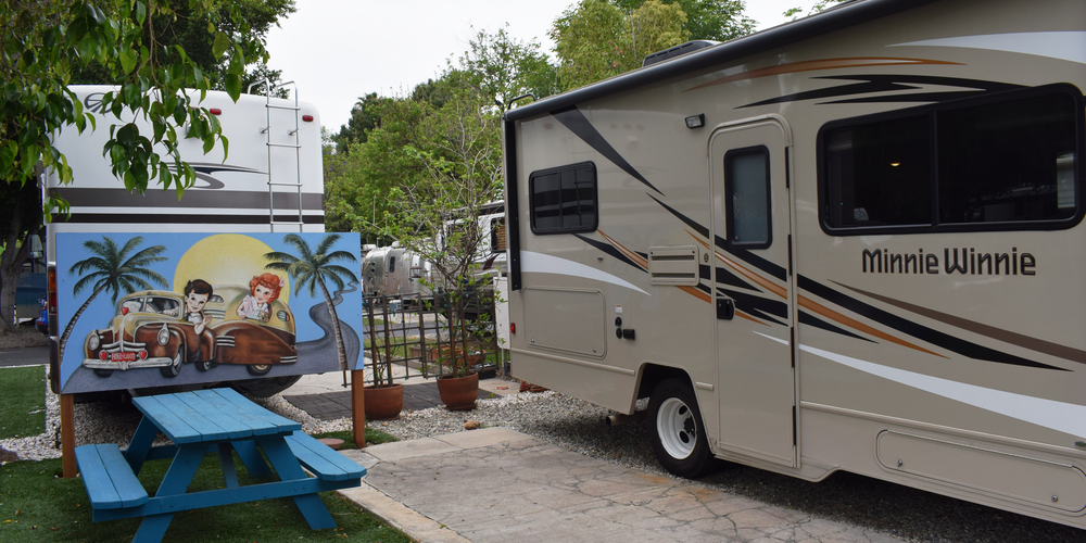 Hollywood RV Park - Los Angeles - California - Camping Amerika - Doets Reizen