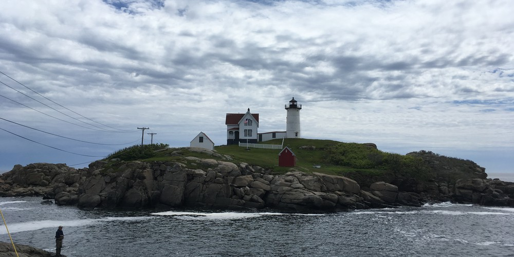 Nubble Lighthouse - Cape Neddick - Maine - Amerika - Doets Reizen