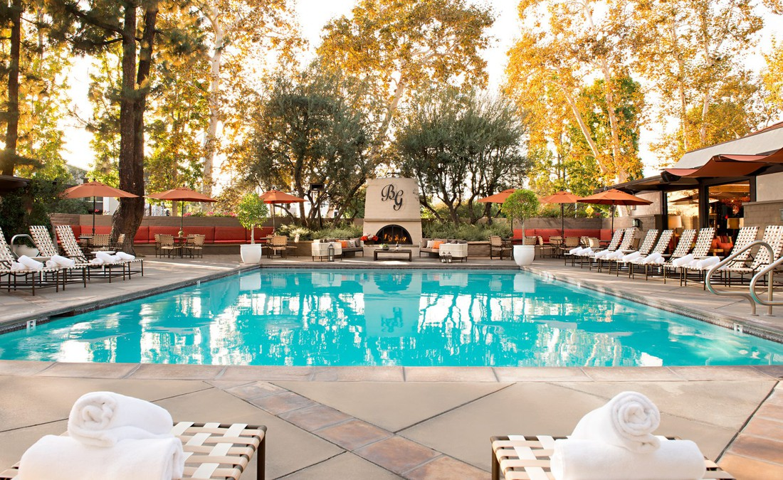 The Garland hotel - Pool - Hollywood - California - Amerika - Doets Reizen
