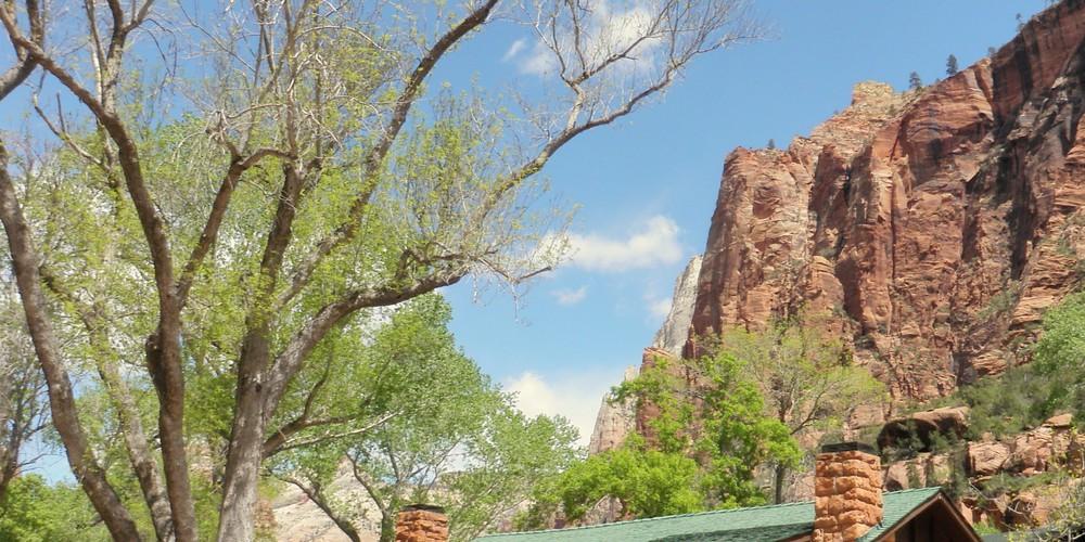 Zion Lodge - Zion National Park - Utah - Doets Reizen