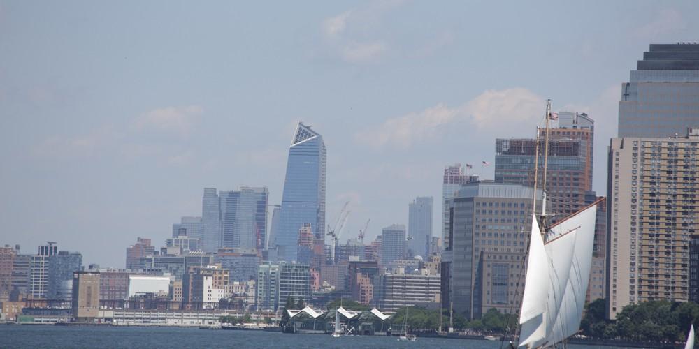 Skyline vanaf Brooklyn.
