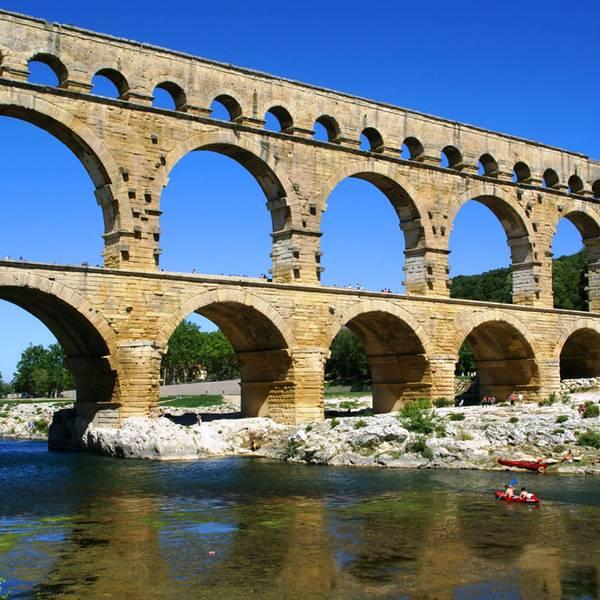 Le Pont du Gard Doets Reizen - Frankrijk credits to Gard Tourisme