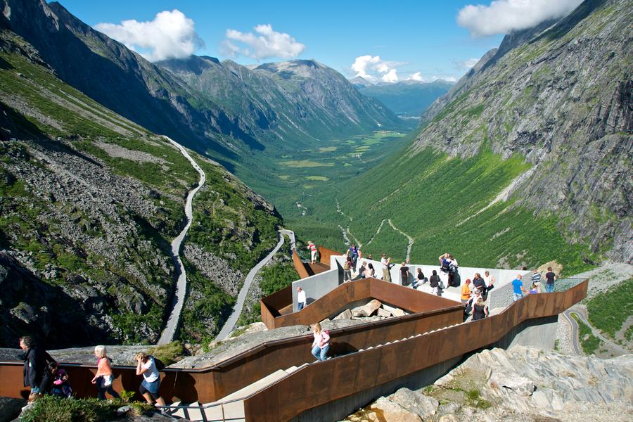 Trollstigen in Noorwegen - Doets Reizen
