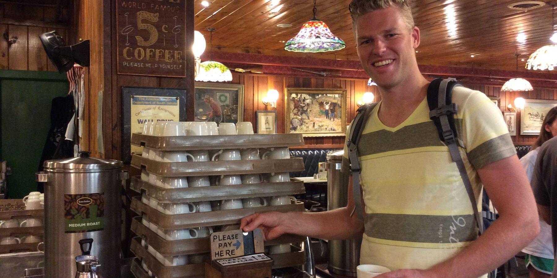 Wall Drug Cafe - South Dakota - Amerika - Doets Reizen