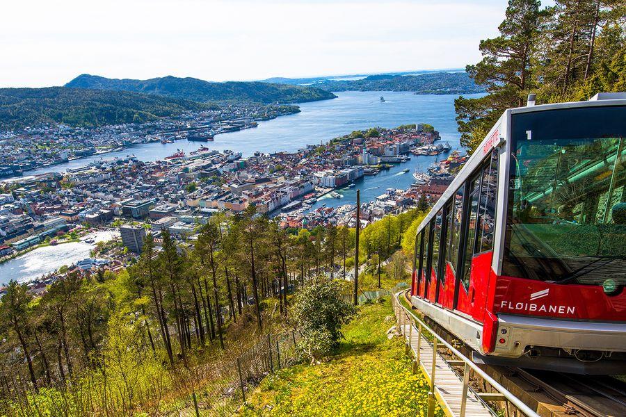 Floibanen - Bergen - Noorwegen - vakantie Noorwegen - Doets Reizen