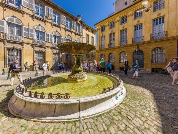 Aix en Provence - pleinen | Atout France | Doets Reizen | Frankrijk
