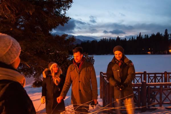 Fairmont Jasper Park Lodge in Jasper National Park Canada - Wintersport CaANADA\Jasper\Hotels\Fairmont Jasper Park Lodge