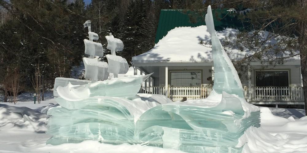 Wintersport - Hotel Sacanomie - Saint-Alexis-des-Monts - Quebec - Canada - Doets Reizen