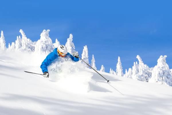 Wintersport Big White Canada