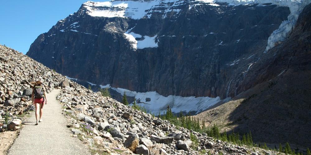 Mount Edith Cavell - Icefields Parkway - Alberta - Canada - Doets Reizen