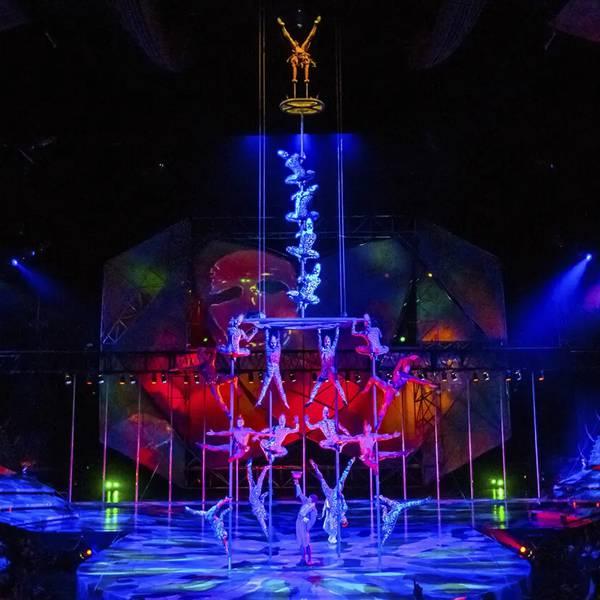 Mystere - Cirque du Soleil - Theatershow - Las Vegas - Nevada - Doets Reizen