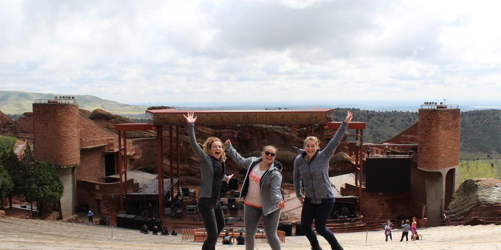 Red Rock Amphitheatre - Denver - Colorado - Doets Reizen
