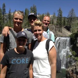 Mammoth lakes rainbow waterfalls - Dag 20 - Foto