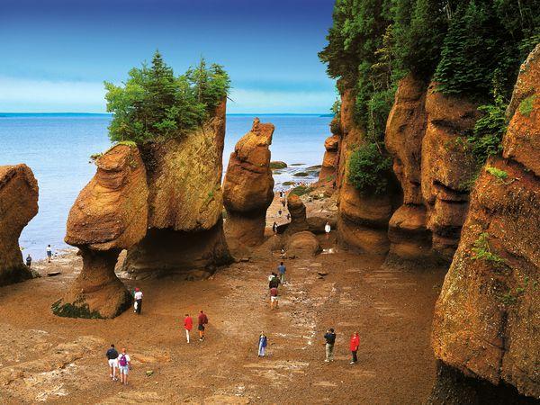 Hopewell Rock - Bay of Fundy National Park - New Brunswick - Canada - Doets Reizen
