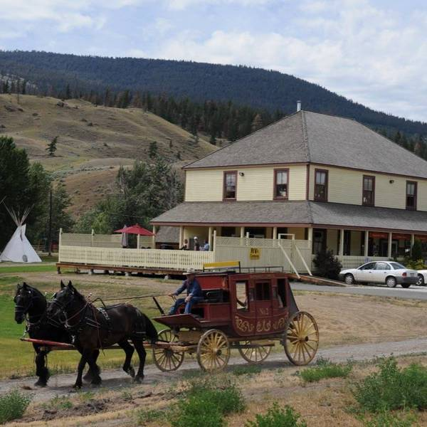 Historic Hat Creek Ranch, stagecoach ride