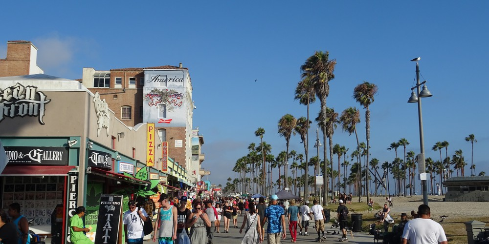 Venice Beach - Los Angeles - California - Amerika - Doets Reizen