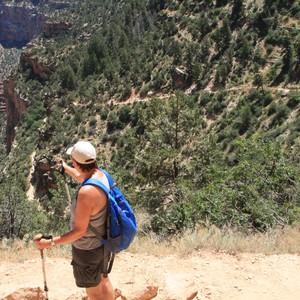Hiken in de grand Canyon - Dag 25 - Foto