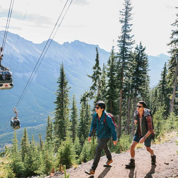 Banff Sulphur Gondola - Alberta - Canada - Doets Reizen