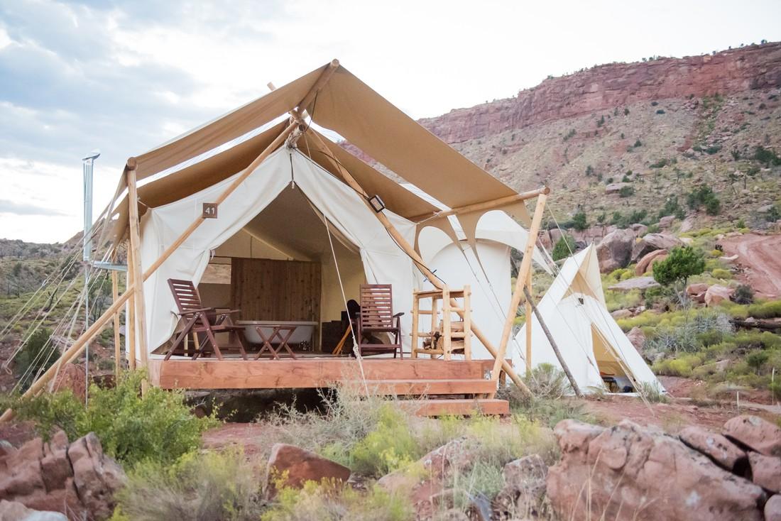 Glamping Zion National Park - Utah - Doets Reizen