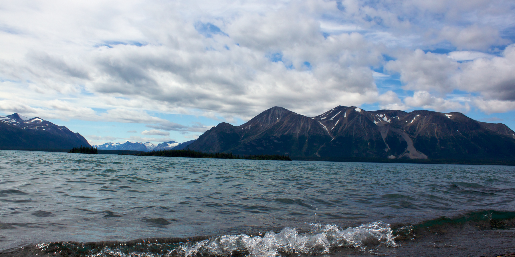 Atlin Lake - British Columbia - Canada - Doets Reizen