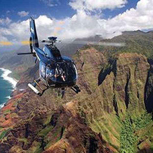 Helikoptervlucht Napali Coast - Kauai - Hawaii - Doets Reizen