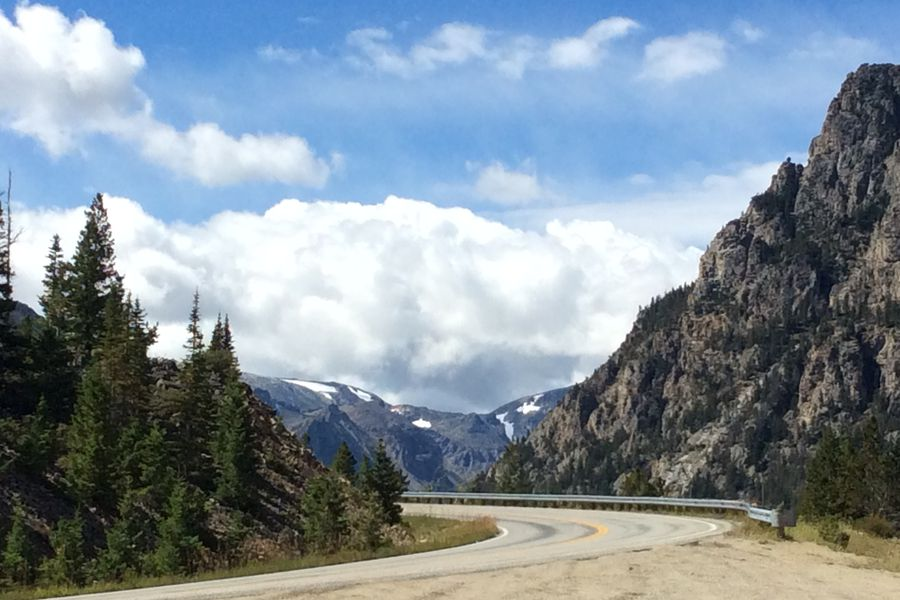 Beartooth Pass - Yellowstone National Park - Wyoming - Doets Reizen