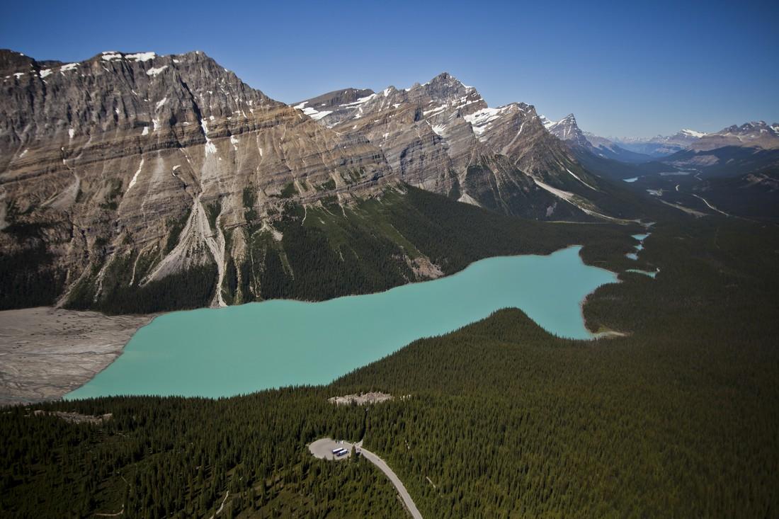 Peyto Lake - Icefields Parkway - Alberta - Canada - Doets Reizen