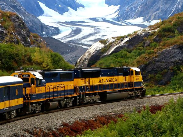 Alaska Railroad - Alaska - Doets Reizen