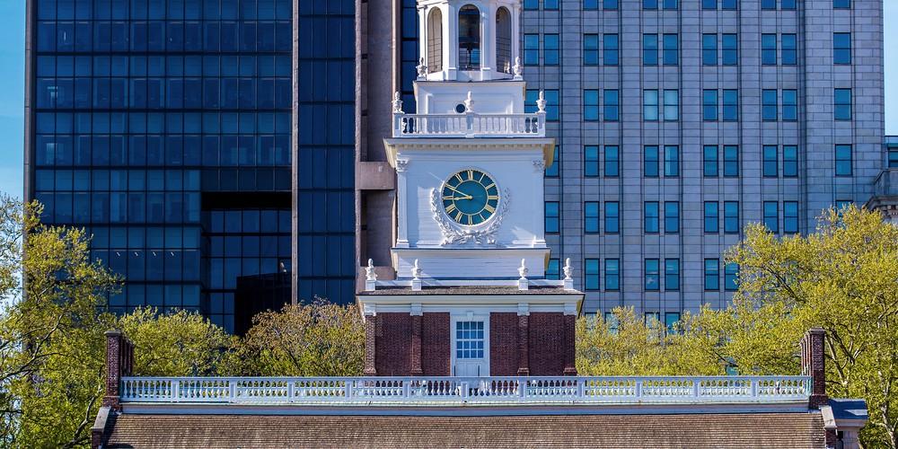 Independence Hall - Philadelphia - Pennsylvania - Amerika - Doets Reizen