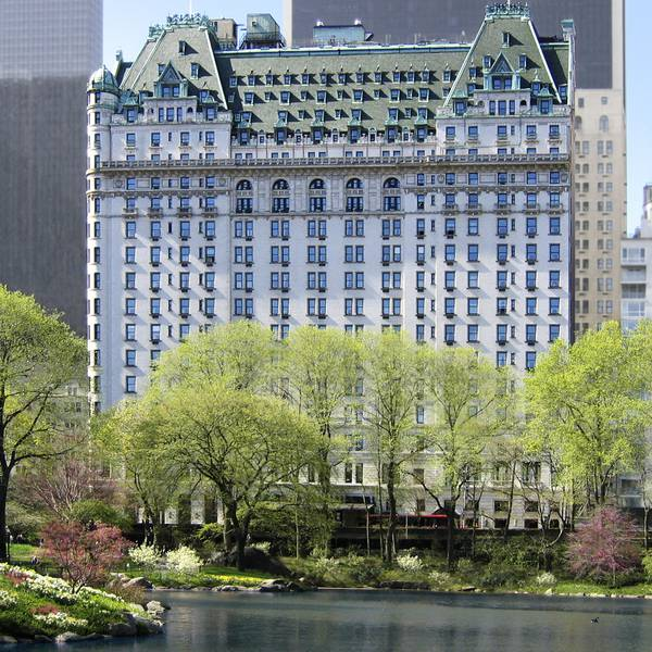 Plaza Hotel New York - exterior