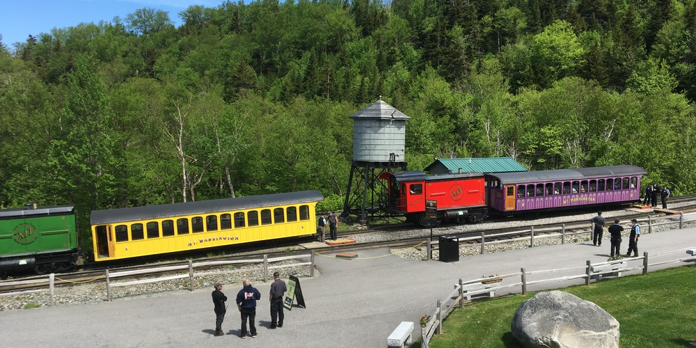 Cog Railroad White Mountains NH