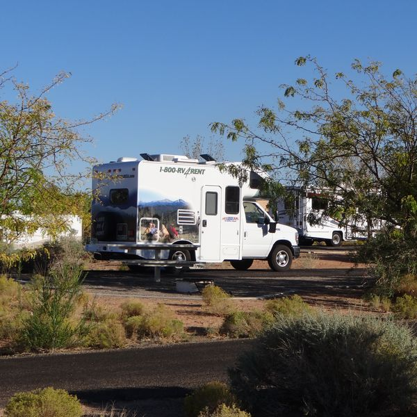 Wahweap Campground, camperplaats