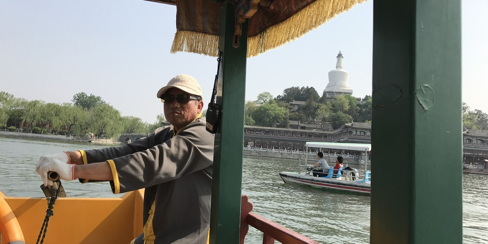 White Pagoda Beihai Park - Beijing - China - Doets Reizen