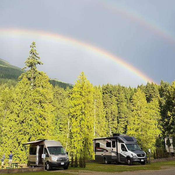 Williamson's Lake Campground, omgeving van camping